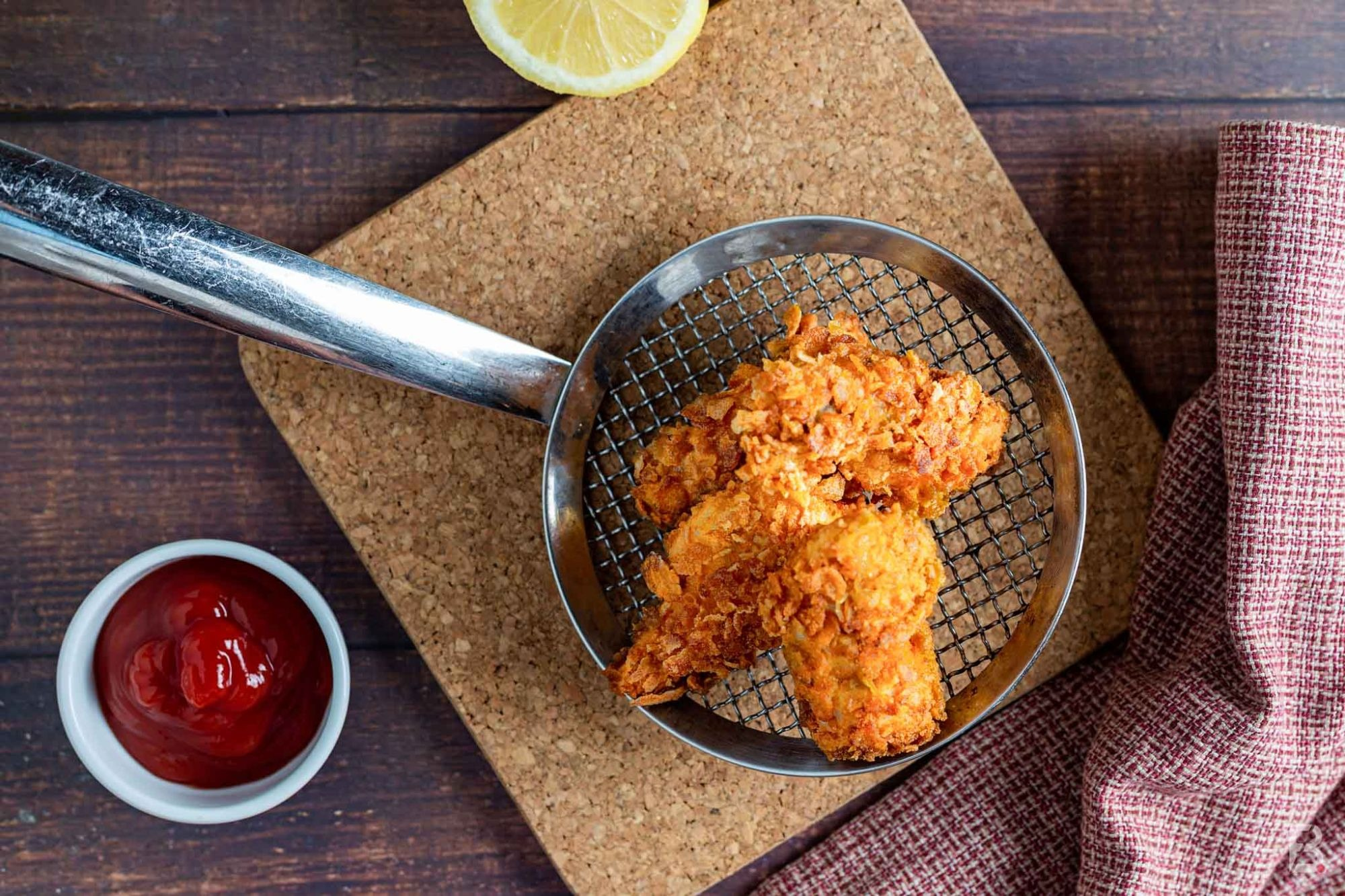 Pollo croccante in crosta di cornflakes
